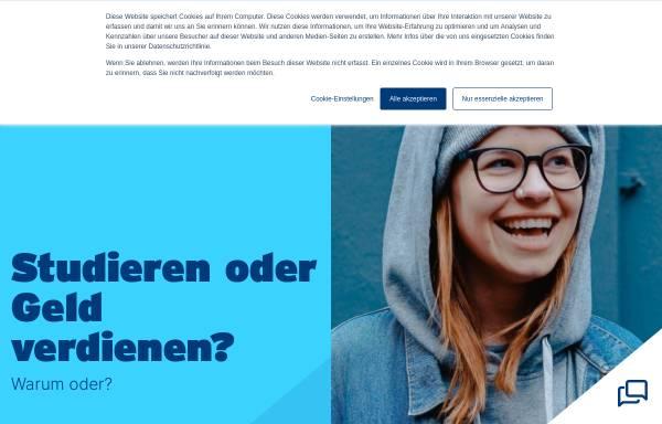 Vorschau von www.nordakademie.de, Nordakademie - Hochschule der Wirtschaft