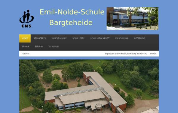 Vorschau von www.emil-nolde-schule.de, Emil-Nolde-Schule