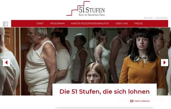 Vorschau von www.51stufen.de, Kino 51 Stufen