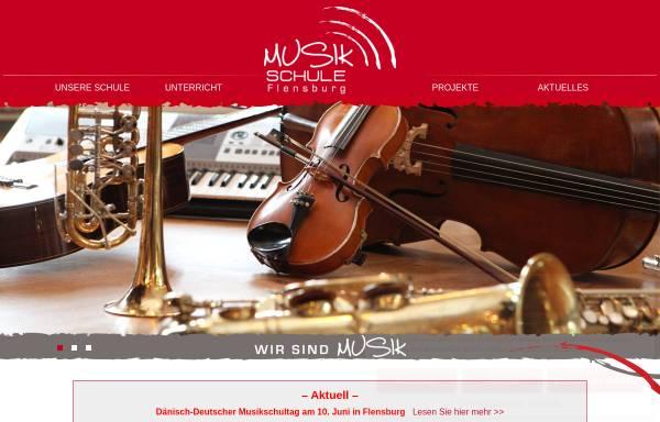 Vorschau von www.musikschule-flensburg.de, Musikschule Flensburg