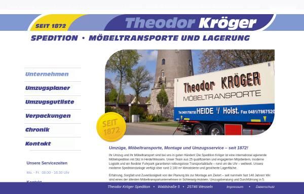 Spedition möbeltransport  Theodor Kröger - Spedition, Möbeltransport und Lagerung GmbH & Co KG ...