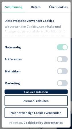 Vorschau der mobilen Webseite www.wilhelm-tel.de, Wilhelm.tel GmbH