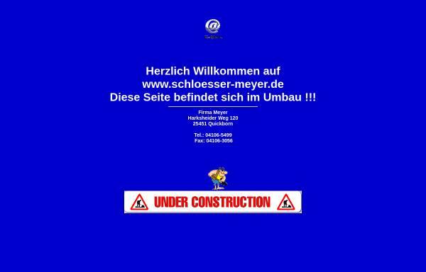 Vorschau von www.schloesser-meyer.de, Schlösser Meyer