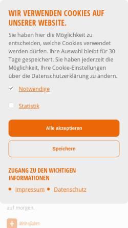 Vorschau der mobilen Webseite www.stadtwerke-quickborn.de, Stadtwerke Quickborn