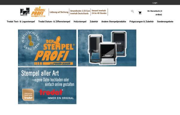 Vorschau von stempelprofi.de, Der Stempel Profi