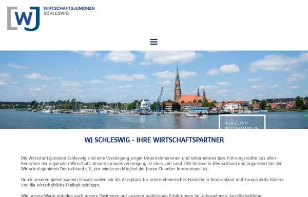 Vorschau von www.wj-schleswig.de, Wirtschaftsjunioren Schleswig