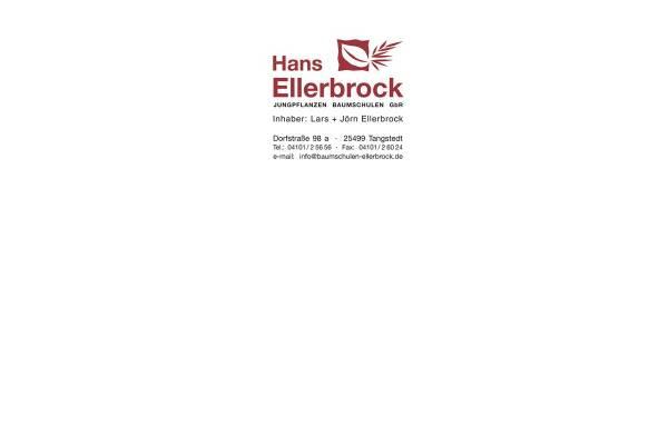 Vorschau von www.baumschulen-ellerbrock.de, Hans Ellerbrock Jungpflanzen Baumschulen