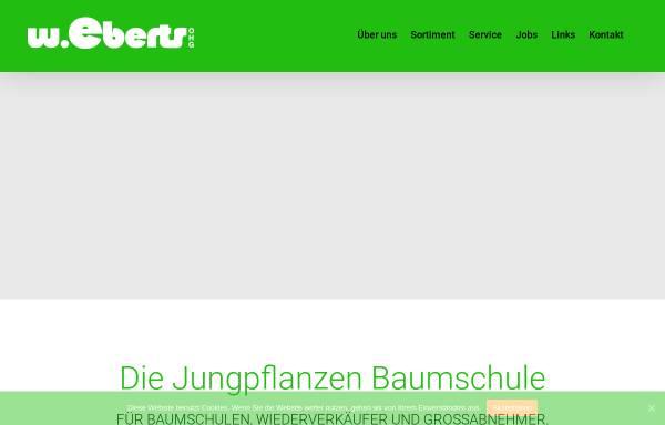 Vorschau von www.eberts-baumschulen.de, Jungpflanzen-Baumschule W. Eberts