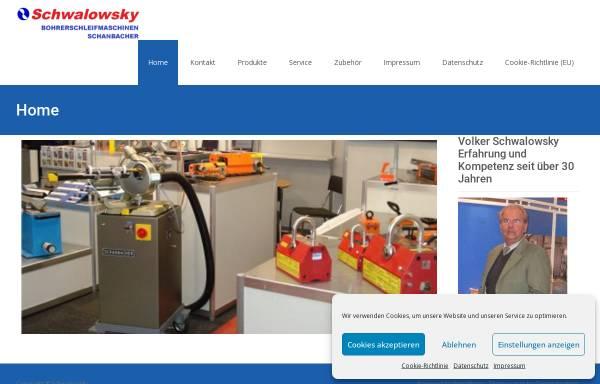 Vorschau von www.schwalowsky.de, Volker Schwalowsky