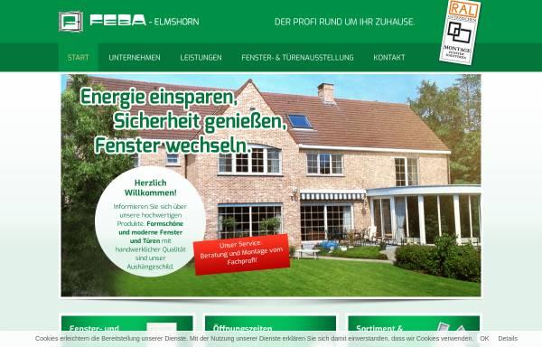 Vorschau von www.feba-elmshorn.de, Feba GmbH
