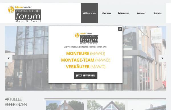 Vorschau von www.fenster-tueren-forum.de, Fenster- & Türen Forum