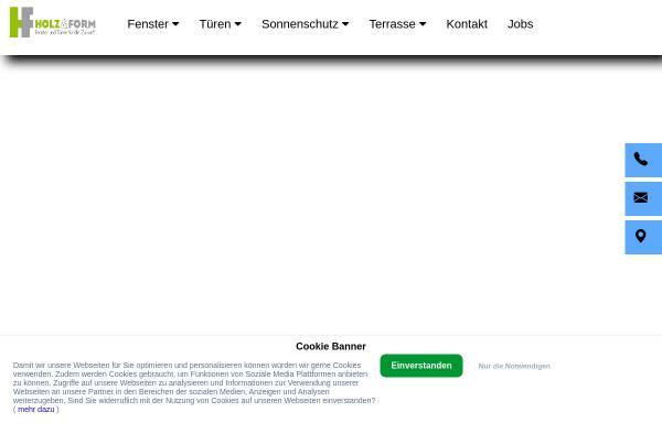 Vorschau von www.holz-und-form.de, Holz & Form
