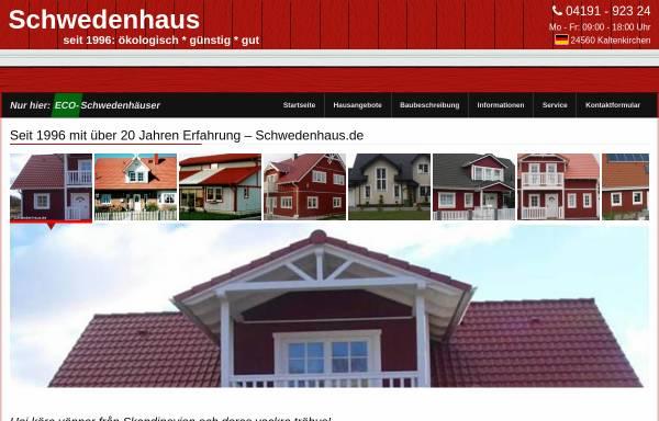 Vorschau von www.schwedenhaus.de, Schwedenhaus.de, Axel Kukuk