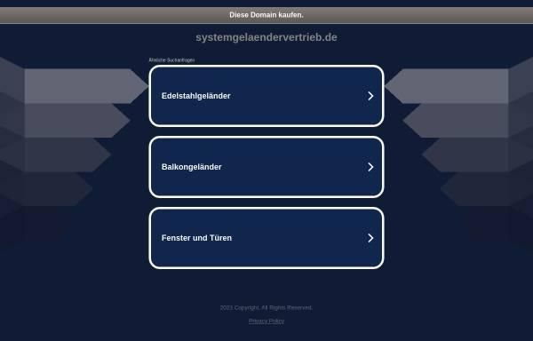 Vorschau von www.systemgelaendervertrieb.de, Rüdiger Weckmann GbR