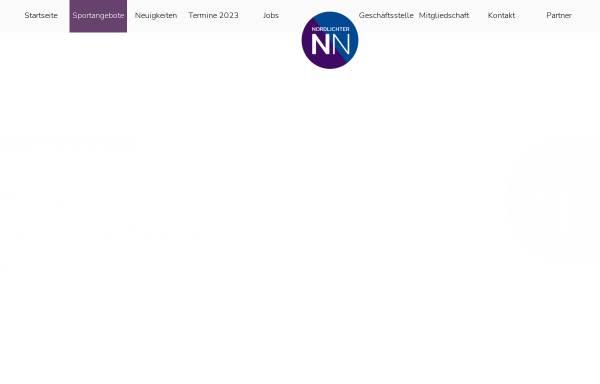 Vorschau von www.nordlichter-norderstedt.de, FFC Nordlichter Norderstedt e.V.