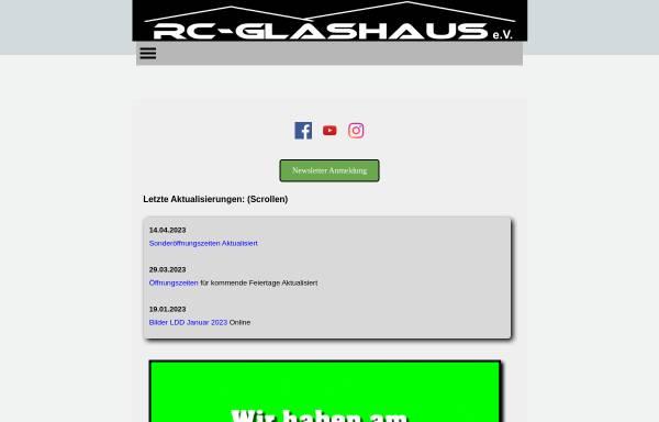 Vorschau von www.rc-glashaus.de, RC-Glashaus