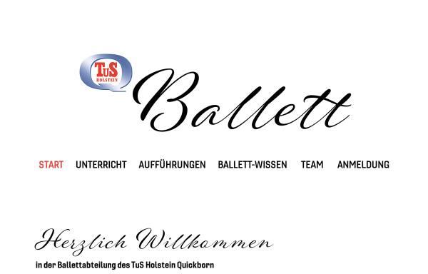 Vorschau von www.thq-ballett.de, TuS Holstein Quickborn - Ballettabteilung