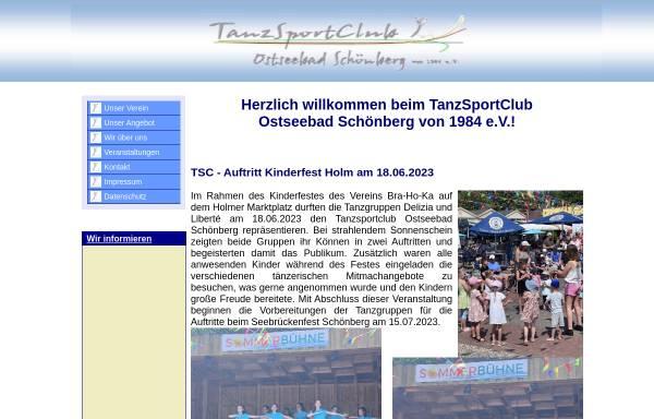 Vorschau von www.tanzsportclub-schoenberg.de, Tanzsportclub Schönberg von 1984 e.V.