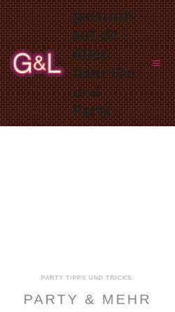 Vorschau der mobilen Webseite www.geilundlaut.de, GeilUndLaut.de