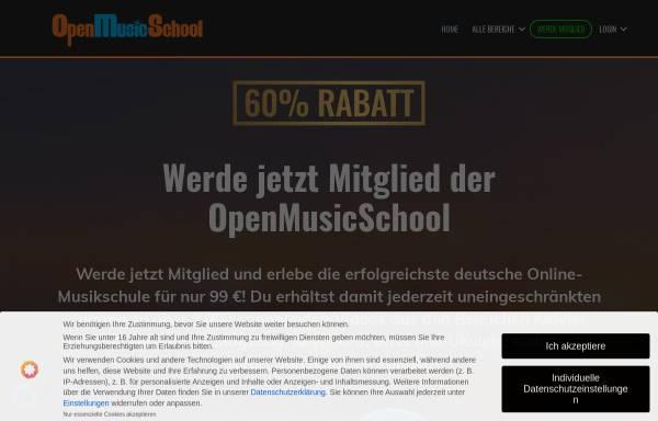 Vorschau von www.openmusicschool.de, OpenMusicSchool