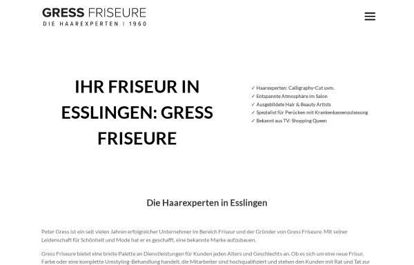 Vorschau von www.gress.de, Bettina und Peter Gress Service & Promotion GbR
