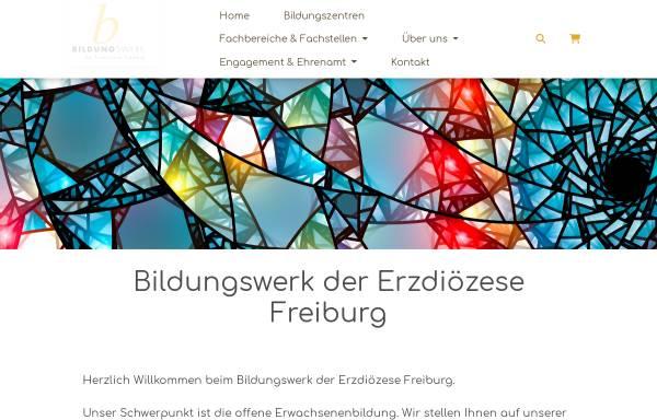 Vorschau von bildungswerk-erzbistum-freiburg.de, Bildungswerk der Erzdiözese Freiburg