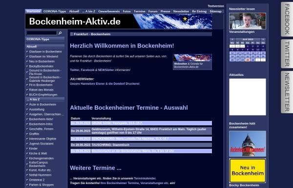 Vorschau von www.bockenheim-aktiv.de, Bockenheim aktiv