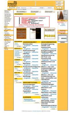 Vorschau der mobilen Webseite www.das-holzportal.com, Das-Holzportal.com by Start-Media-Concept, Inh. Reimund Reitz
