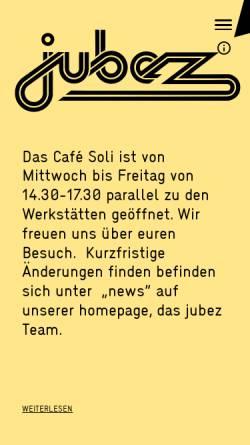 Vorschau der mobilen Webseite www.jubez.de, JUBEZ