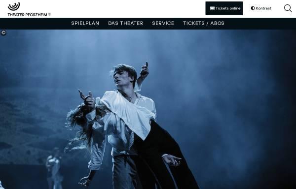 Vorschau von www.theater-pforzheim.de, Stadttheater