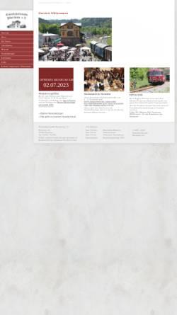 Vorschau der mobilen Webseite www.eisenbahnfreunde-pforzheim.de, Eisenbahnfreunde Pforzheim e.V.