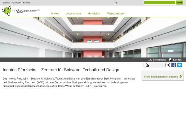 Vorschau von www.innotec-pforzheim.de, Innotec Pforzheim – Zentrum für Software, Technik und Design