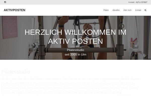Vorschau von www.aktiv-posten.de, Aktiv Posten