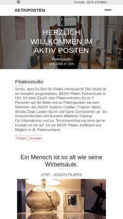 Vorschau der mobilen Webseite www.aktiv-posten.de, Aktiv Posten
