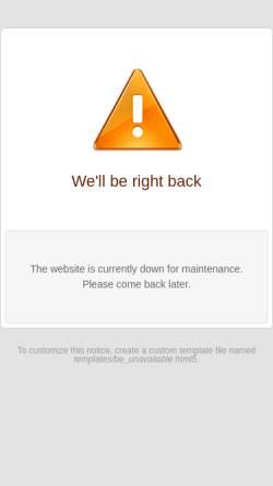 Vorschau der mobilen Webseite www.pvp-penig.de, Papierverarbeitung GmbH Penig