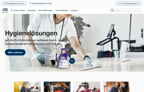 Vorschau von www.tork.de, Tork - SCA Hygiene Products GmbH