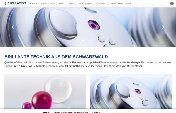 Oskar Moser Technische Edelsteine GmbH in Elzach: Steine, Erden ...