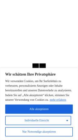 Vorschau der mobilen Webseite www.aicher-praezision.de, Aicher Präzisionstechnik GmbH & Co. KG