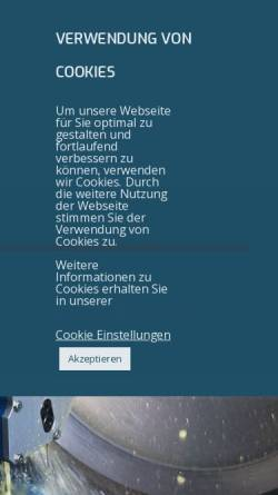 Vorschau der mobilen Webseite www.bswgmbh.de, BSW Gesellschaft für Produktion und Vertrieb mbH