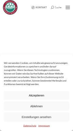 Vorschau der mobilen Webseite www.dreibaeumen.de, Golfclub Dreibäumen e.V.
