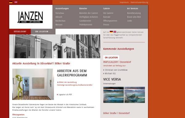 Vorschau von www.janzen-galerie.de, Galerie Janzen, Galerie und Kunst