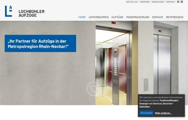 Vorschau von www.lochbuehler.de, Lochbühler GmbH