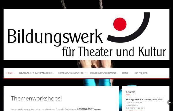 Vorschau von www.btk-hamm.de, Bildungswerk für Theater und Kultur Hamm