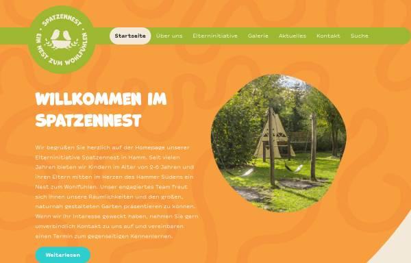 Vorschau von www.spatzennest-hamm.de, Kindertagesstätte