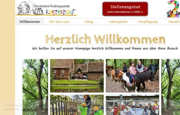 Vorschau von www.villa-kunterbunt-hamm.de, Kindertagesstätte Villa Kunterbunt