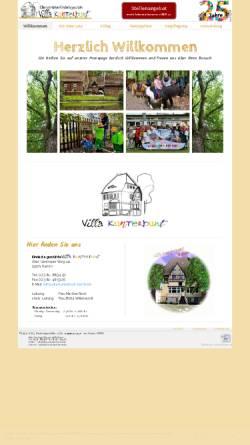 Vorschau der mobilen Webseite www.villa-kunterbunt-hamm.de, Kindertagesstätte Villa Kunterbunt