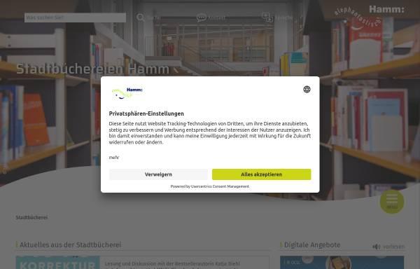 Vorschau von www.hamm.de, Stadtbücherei