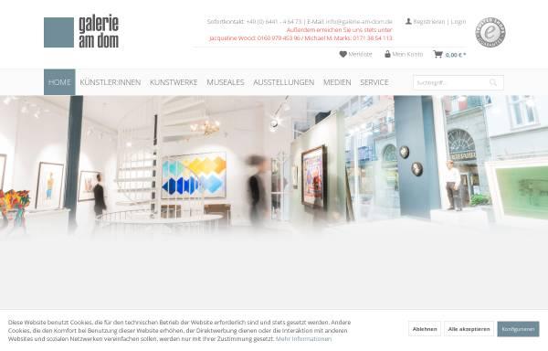 Vorschau von www.galerie-am-dom.de, Galerie am Dom