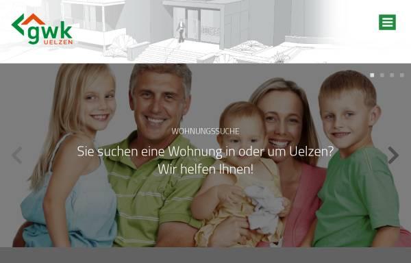Vorschau von www.gwk-uelzen.de, Gesellschaft für Wohnungsbau des Kreises Uelzen (GWK)
