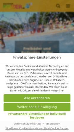 Vorschau der mobilen Webseite www.aachenerkinder.de, Aachener Kinder